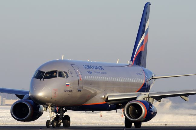 Iran says Russia refuses to sell Sukhoi superjet